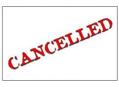 Cancel it.